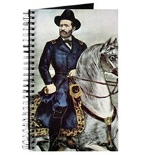 Portrait of Ulysses S. Grant on horseback Journal