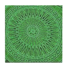 Italian green Tile Coaster