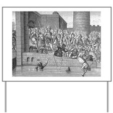 Henry IV entering Paris with army Yard Sign