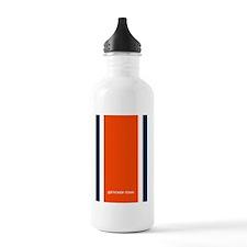 Auburn Orange/Blue Hel Water Bottle