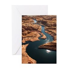 Glen Canyon National Recreation Area Greeting Card