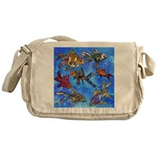 Wild Goldfish Messenger Bag