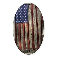 American flag pattern Decal