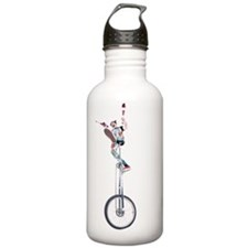 Juggling clown on unic Water Bottle