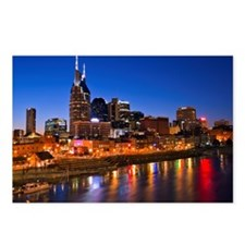 Nashville, Tennessee skyl Postcards (Package of 8)