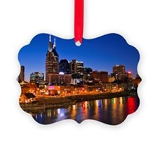 Nashville, Tennessee skyline Ornament