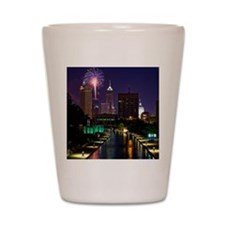 Fireworks in Indianapolis Shot Glass