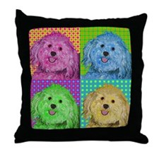 Zoe the Havanese Throw Pillow