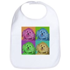 Zoe the Havanese Bib