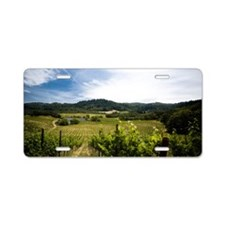 Vineyard in Sonoma Valley,  Aluminum License Plate