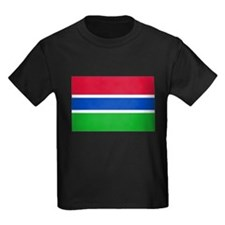 Gambia Flag T Shirts T