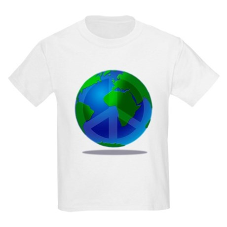 Peace Planet Kids T-Shirt