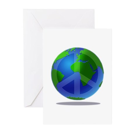 Peace Planet Greeting Cards (6)