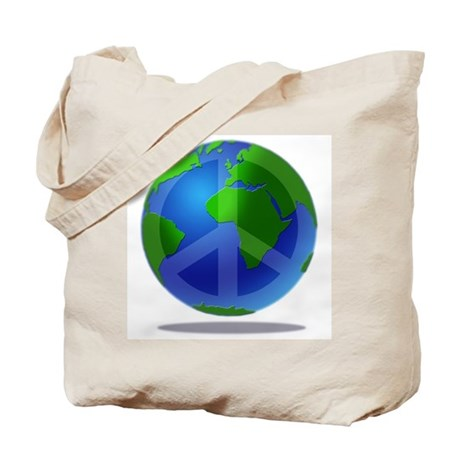 Peace Planet Tote Bag