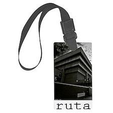 brutalism Large Luggage Tag