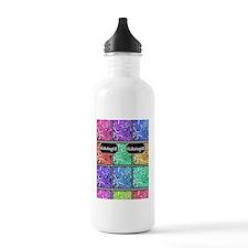 histologist flip flops Water Bottle