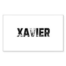 Xavier Rectangle Decal