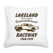 Lakeland International Racewa Square Canvas Pillow