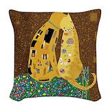 Klimt pillows Throw Pillows