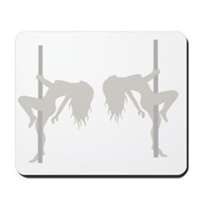 Pole Dancing Strippers Mousepad