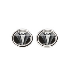 Best Man Name Tag Cufflinks