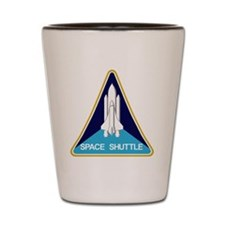 Space Shuttle Patch Shot Glass