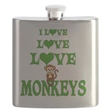 Love Love Monkeys Flask