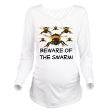 beware of the swarm sandstone.png Long Sleeve Mate