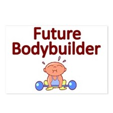 Future Bodybuilder Postcards (Package of 8)