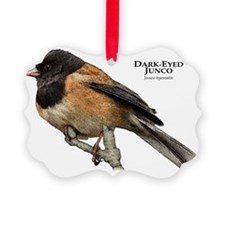 Dark-Eyed Junco Ornament