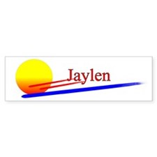Jaylen Bumper Car Sticker