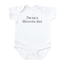 Slivovitz diet Infant Bodysuit