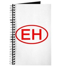 EH Oval (Red) Journal
