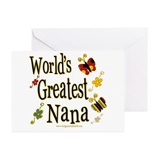 Nana Butterflies Greeting Cards (Pk of 10)