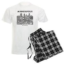 Minneaplis_12X12_Downtown_Bla pajamas