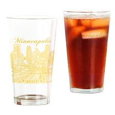 Minneapolis_10x10_Downtown_Yellow Drinking Glass
