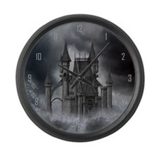 dc_Wooden Wall Clock Large Wall Clock