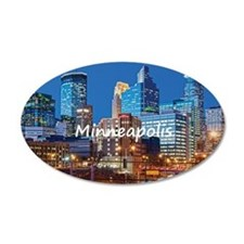 Minneapolis_2x3_magnet_Downt Wall Decal