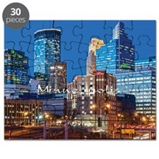 Minneapolis_3.7X3.7_Downtown Puzzle