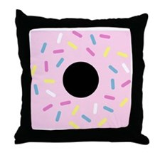 Do or Donut Throw Pillow