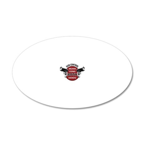 Gen Control 20x12 Oval Wall Decal