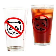 No Panda - (Canada - Stop FIPA) Drinking Glass