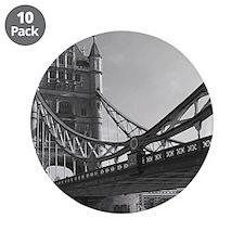 "london tower bridge 3.5"" Button (10 pack)"