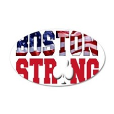 Boston Strong aaa(blk) Wall Decal