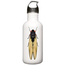 Cicada Bug Water Bottle