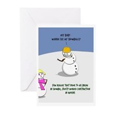 Frosty The Construction Worker (Pk Of 10)