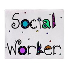 social worker PILLOW 2 Throw Blanket