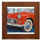 1955 Thunderbird Framed Tile