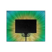 Tie Dye Disc Golf Basket Picture Frame