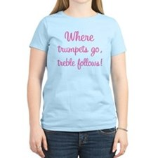 Funny Trumpet Women's Light T-Shirt